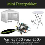 Mini feestpakket huren Nijmegen
