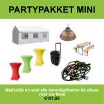 Partypakket mini Nijmegen