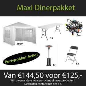 Maxi dinerpakket huren Nijmegen
