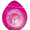 Ballonnen sweet 16 roze kopen Nijmegen